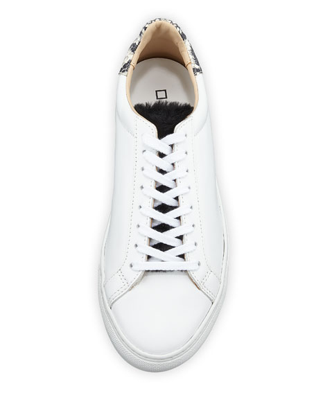 Newman Leather Platform Sneakers