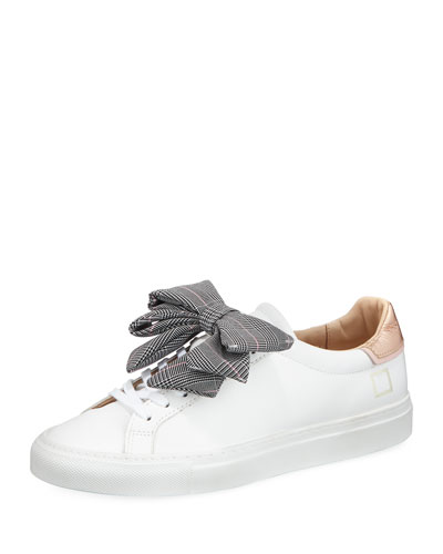 Newman Bow-Check Sneakers