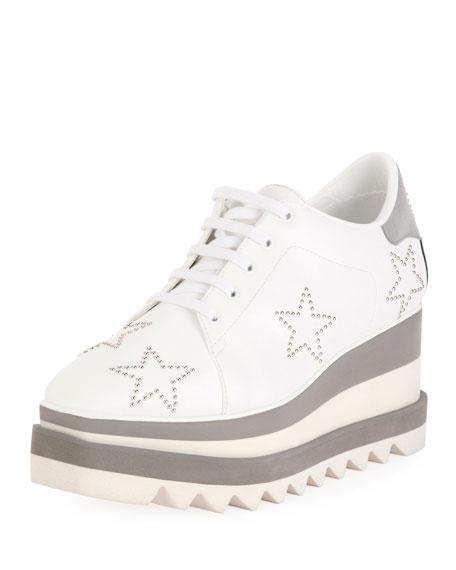 Elyse Stud-Star Platform Sneakers