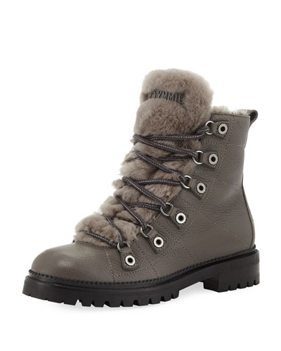 Hillary Lace-Up Hiker Boots