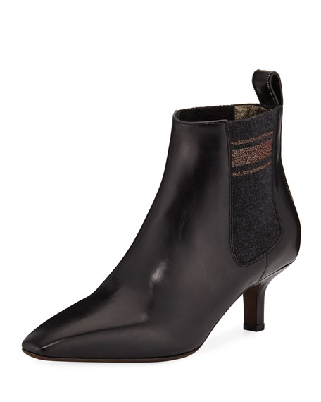 CALFSKIN CITY ANKLE BOOTIE