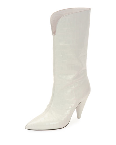 Betta Mid-Calf Pointed Boots