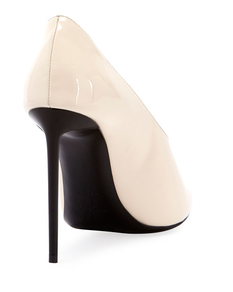 19a9c8a2 Teddy High-Vamp Patent Leather Pumps