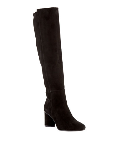 Eloise 75mm Suede Knee Boots
