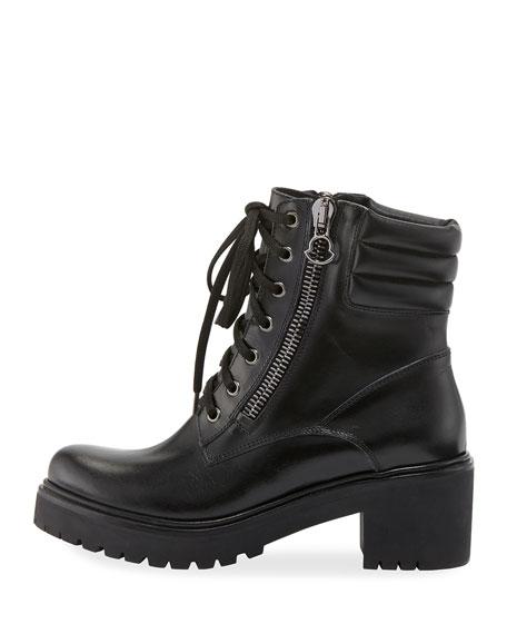 c34e4d67a327 Moncler MM Viviane Scarpa Leather Hiker Boots