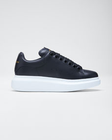 Pelle Low Top Platform Sneakers by Alexander Mc Queen