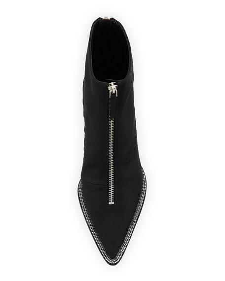 f3e00d37105 Alexander Wang Eri Diamonte Silk Low-Heel Booties