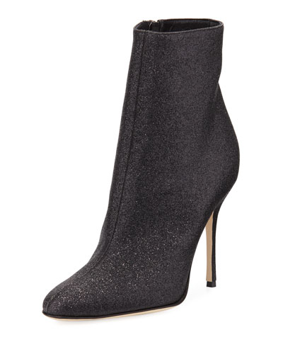 Insopo 105mm Shimmer Fabric Booties