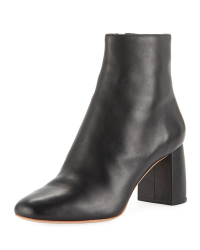 Cooper Shaped-Heel Booties