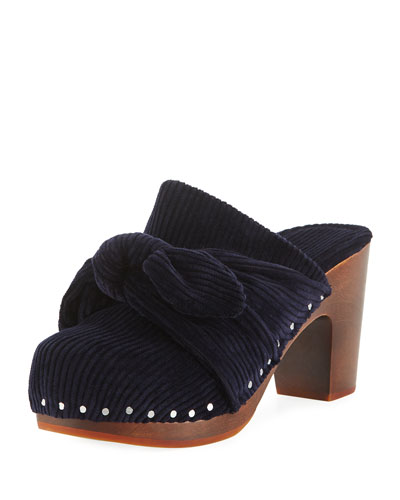 Neko Knotted Slide Clogs