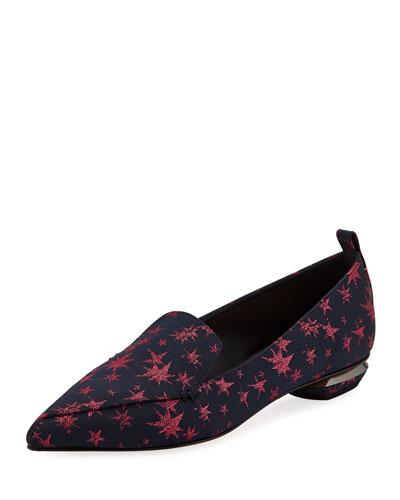 Beya Star-Print Loafers