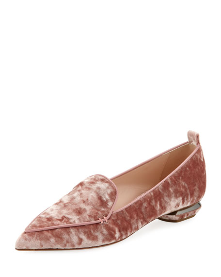 Beya 18mm Velvet Loafers