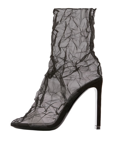 Darcy Illusion Ankle Booties
