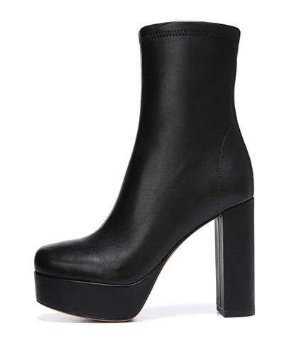 Yasmine Platform Leather Boots
