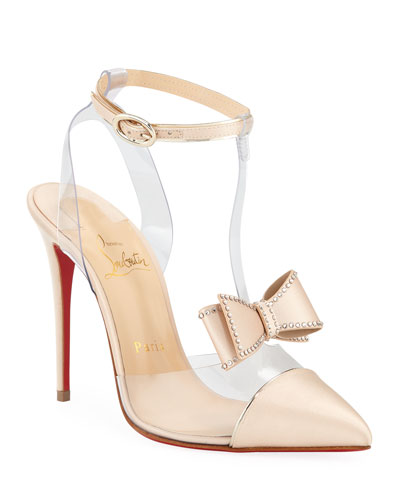 a8d8a94bb293 Naked Bow Red Sole Pumps Quick Look. Christian Louboutin