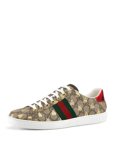 Gucci Bee sneakers Gucci GG Canvas Bee Sneakers