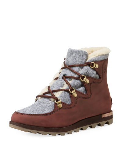 Sneak Chic Alpine Boots
