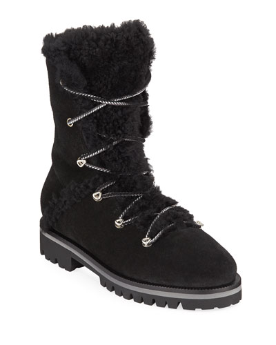 Curly Mernillo Fox Tall Boots