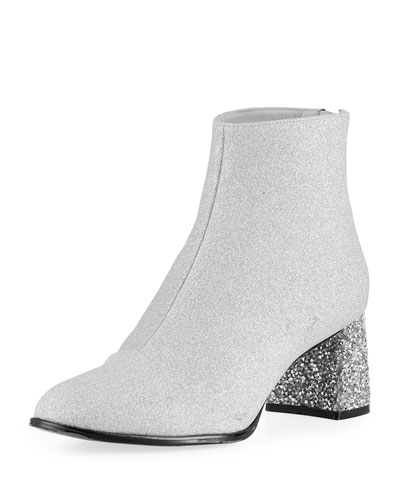 Stella Glitter Mid-Ankle Booties