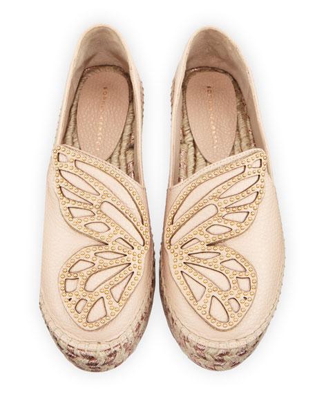 Bibi Butterfly Flat Espadrilles