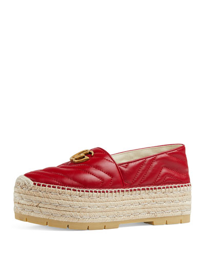 Quilted Platform Espadrilles Quick Look. Gucci 0f1f2bad73