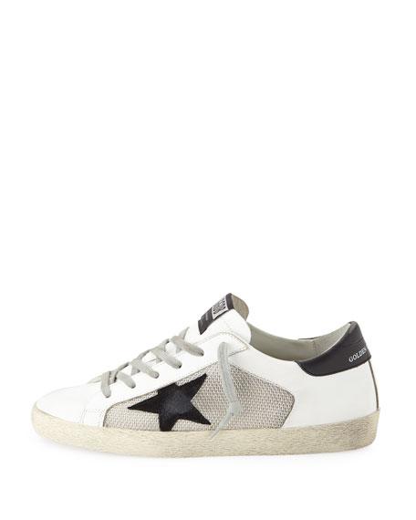 1f2120dbc86 Golden Goose Superstar Mixed Sneakers
