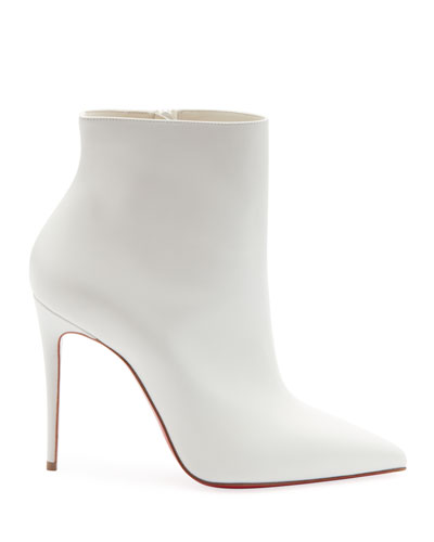 So Kate Red Sole Booties