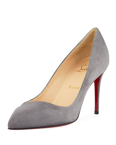 Corneille Suede Red Sole Pumps