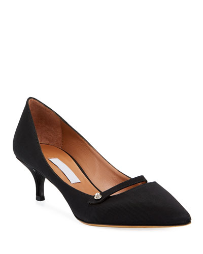 Layton Fabric Pointed Pumps