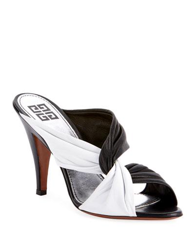 Twist-Strap High Sandals