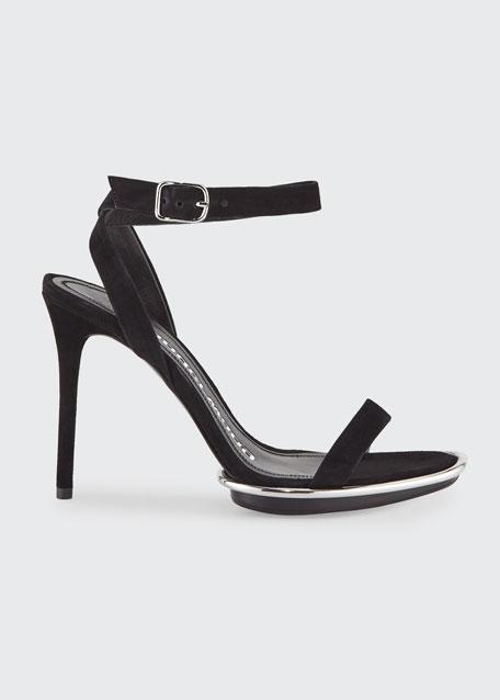 Alexander Wang Cady Halo-Pod High-Heel Sandals