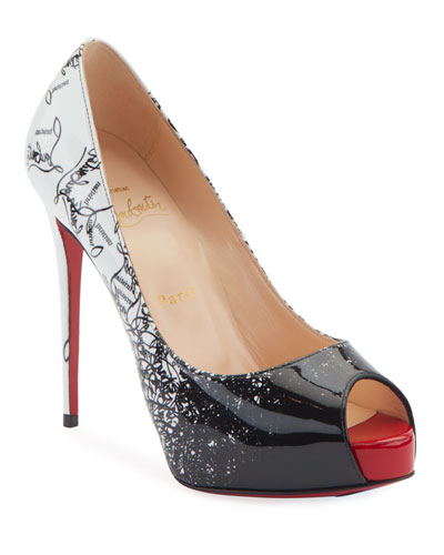 4a16d17489ad New Very Prive 120 Degraloubi Red Sole Pumps Quick Look. Christian Louboutin
