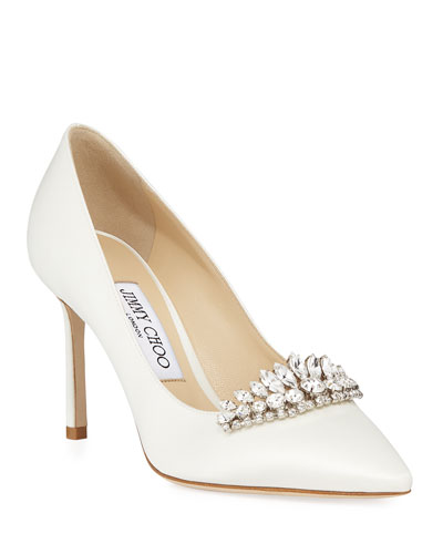 Romy Pointed Pumps With Tiara