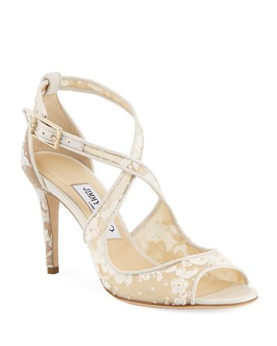 Emily Lace 85mm Sandals