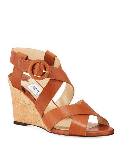 Domenique Buckle 85mm Sandals