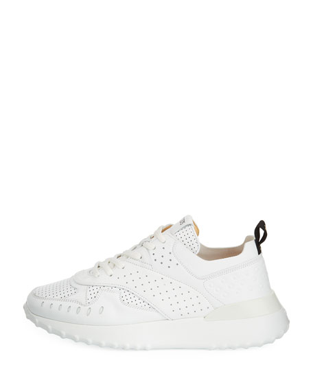 tod s perforated leather running sneakers 1820s Evening Dresses perforated leather running sneakers