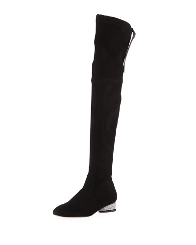 Prism 30mm Suede Over-the-Knee Boots