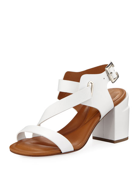 Clergerie Paris Alba Strappy Leather Sandals