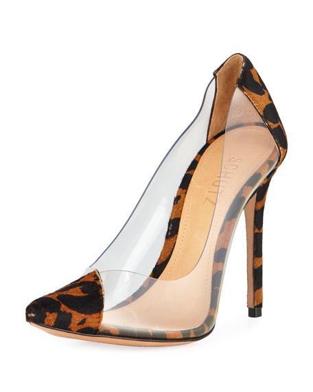 schutz leopard heels
