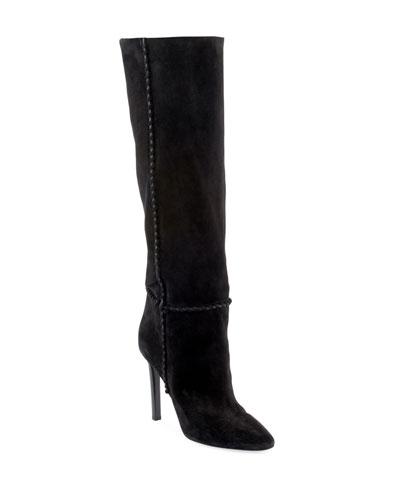 Mica Suede Knee Boots