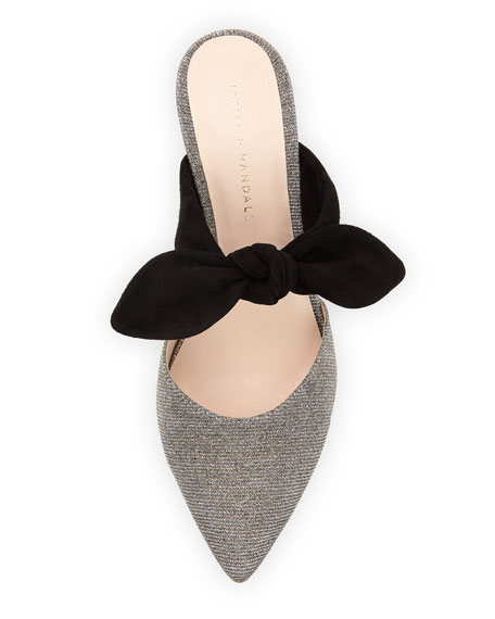 Flora Bow Mules