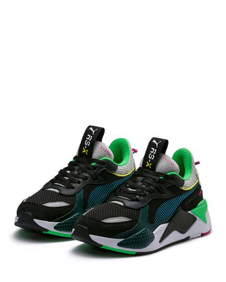 97cf4a98e1d Puma RS-X Toys Colorblock Mixed-Media Dad Sneakers