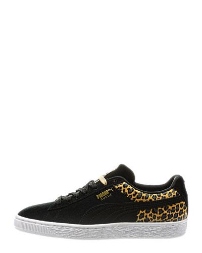 Wild Leopard Suede Sneakers