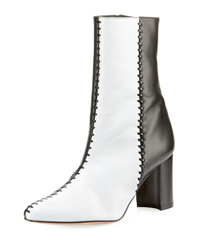 Caracol Two-Tone Stitched Boots
