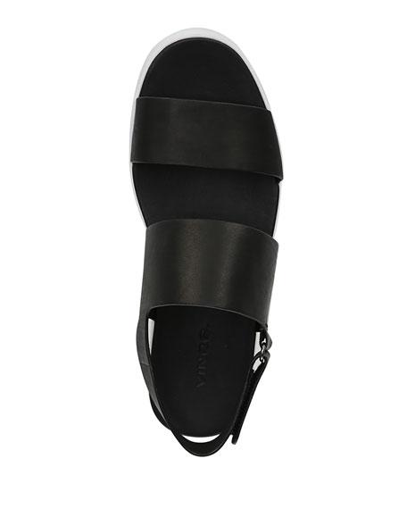 Westport Platform Two-Tone Sandals