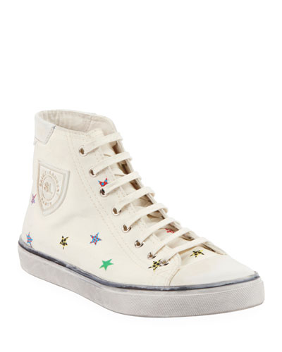 Bedford High-Top Embellished Sneakers