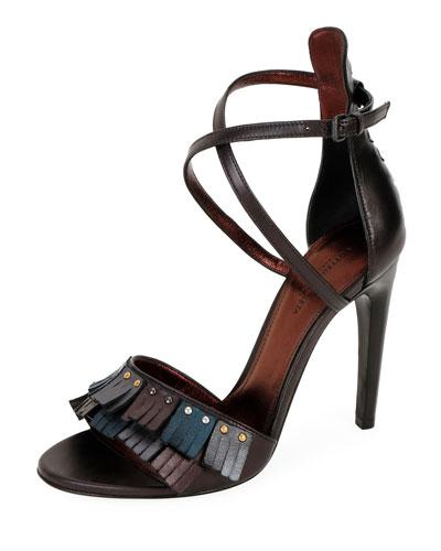 85mm Antique Napa Fringe Sandal