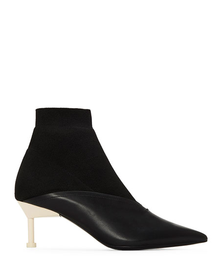 Kaelen Pointed Pull-On Booties
