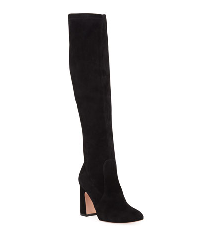 Milla Over-The-Knee Suede Boots