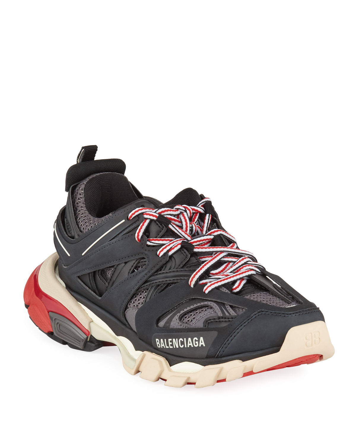 Balenciaga Trainers Track Black Site Officiel Vendetta